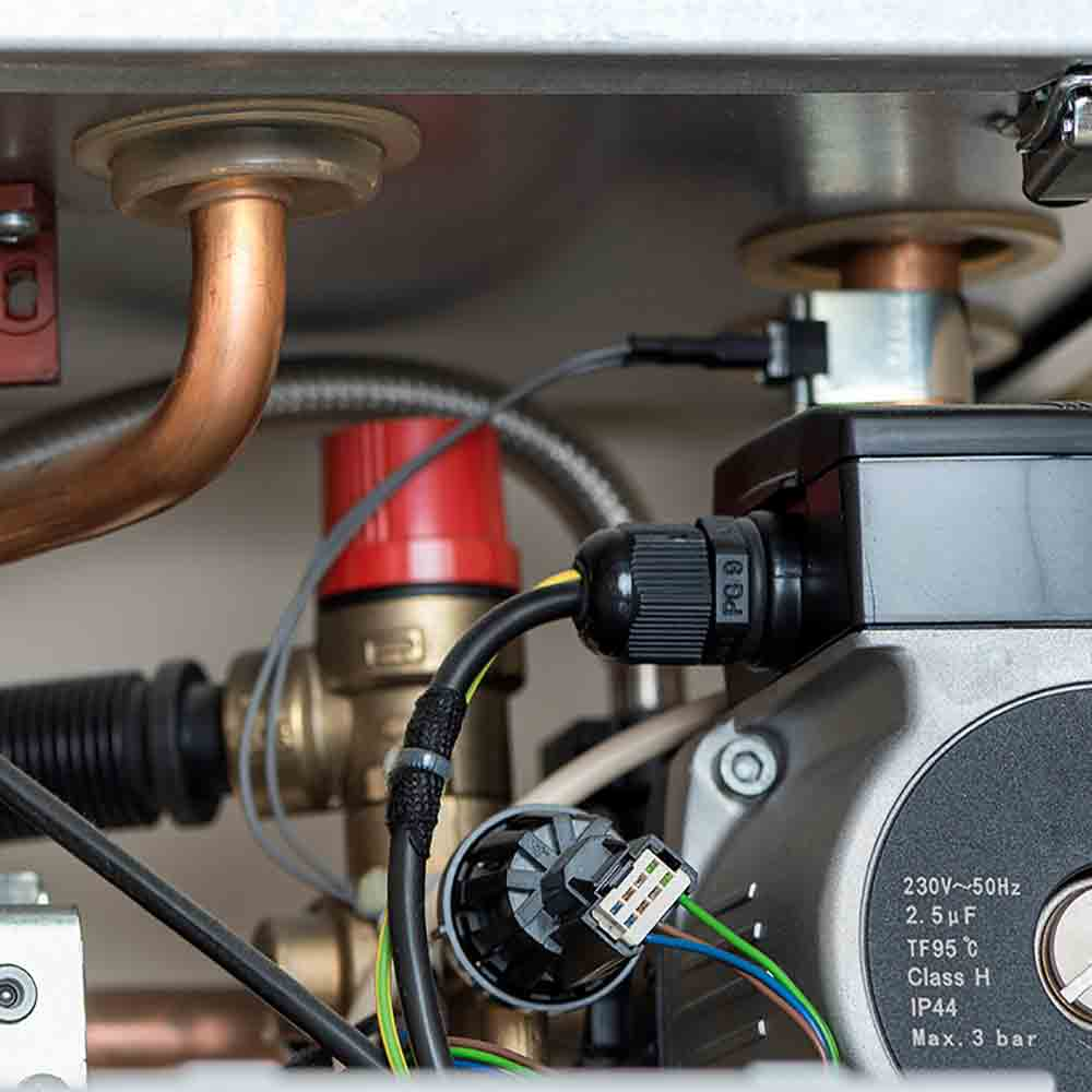 boiler service and gas safety checks